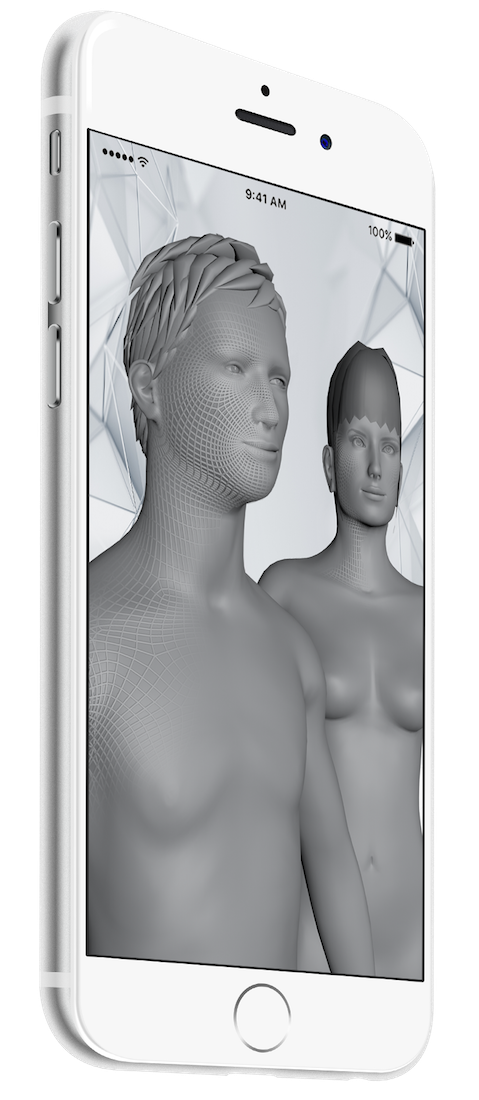 3D body scan mobile app