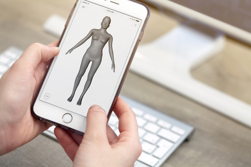 Nettelo - 3D Body Scan and Analysis Mobile Application