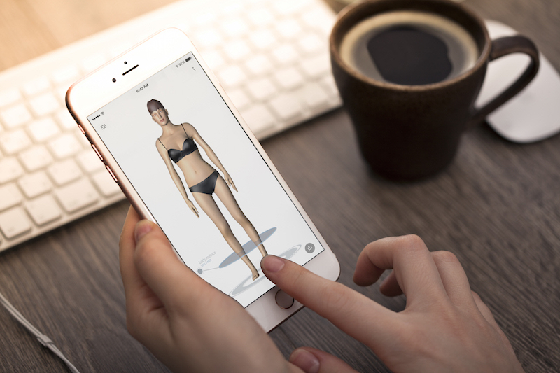 Nettelo Free 3D body scan app - Digital measurements
