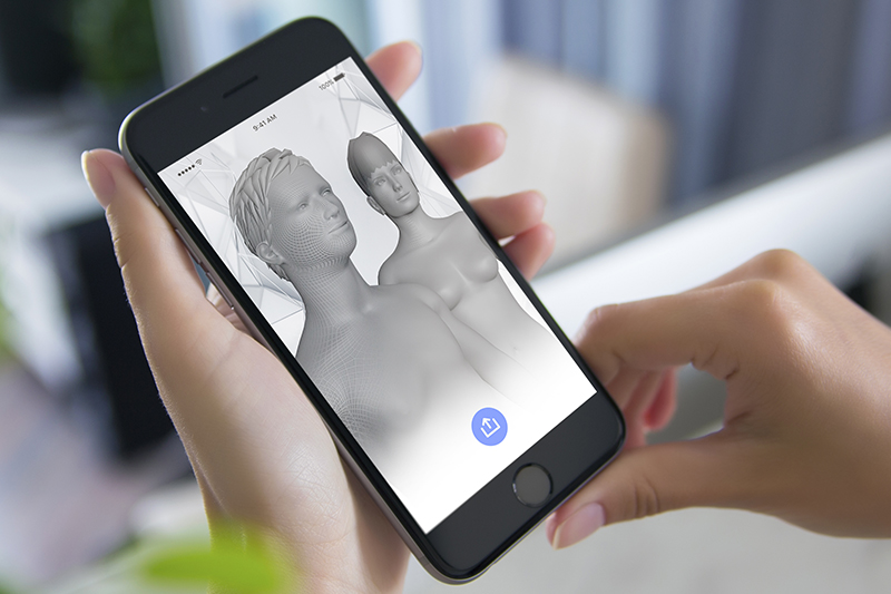 Connect your 3D body Scan